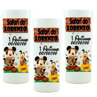 Copo Personalizado Mickey Safari