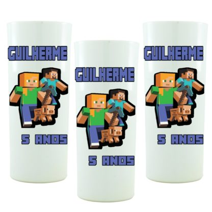 Copo Personalizado Mine Craft
