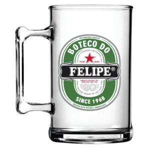 Caneca de Chopp Personalizada Boteco Heineken