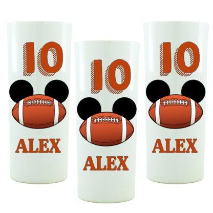 Copo Personalizado Mickey Futebol Americano Mod. 01