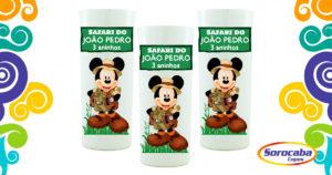 Copo Personalizado Mickey Safari mod 02 Sociais