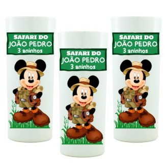Copo Personalizado Mickey Safari mod. 02