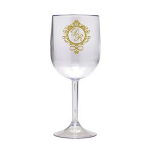 Taça Personalizada de Vinho Brasão Acrilico