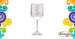 Taça Personalizada de Vinho Casamento 01 Acrilico - Facebook