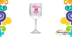 Taça Personalizada de Vinho Nome Acrilico - Facebook 3